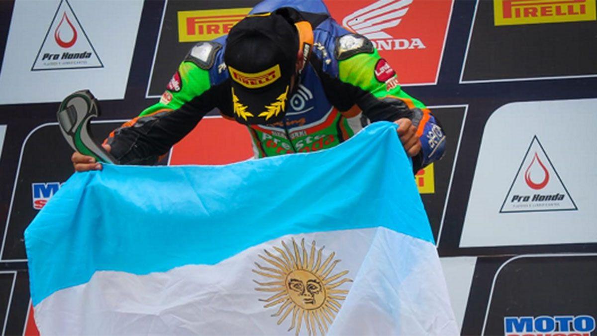 El mendocino Mariano Villalobos hizo podio en Brasil