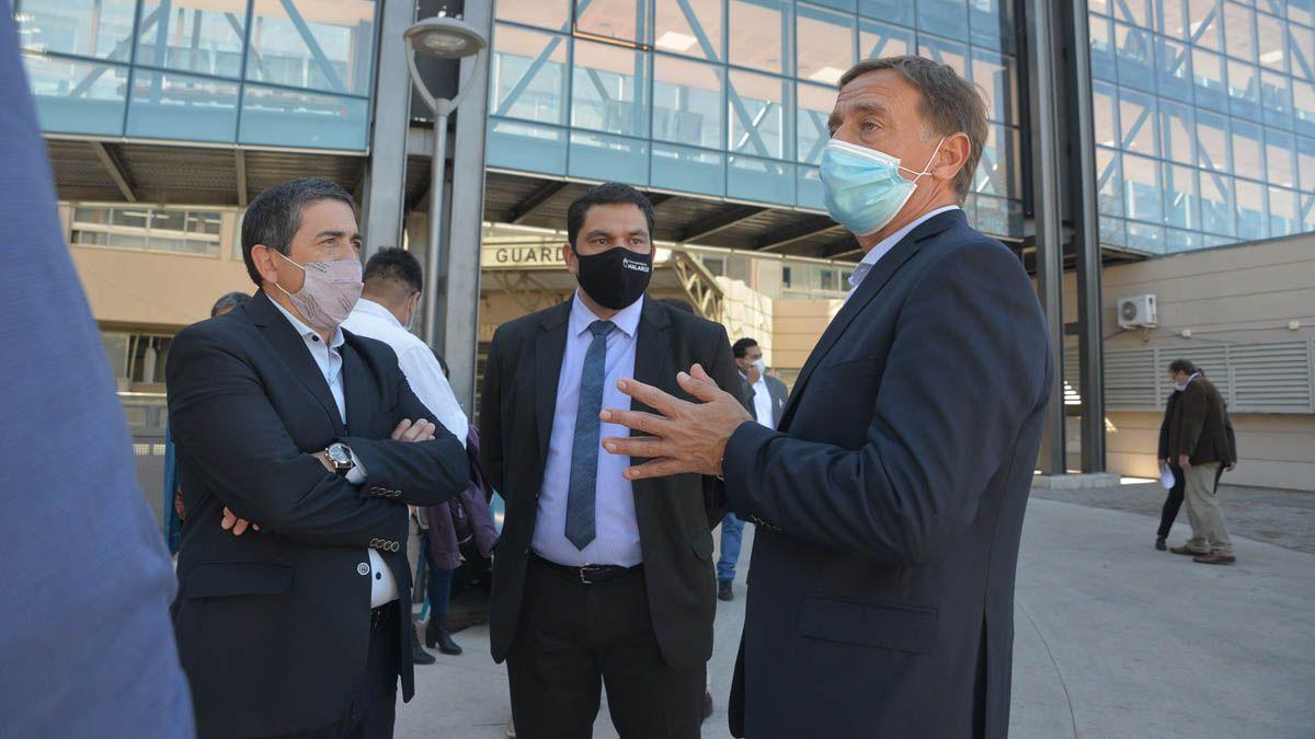 Rodolfo Suarez estuvo en San Rafael y allí formuló las declaraciones que desataron la polémica.