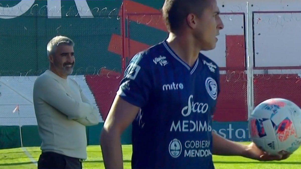 Gabriel Gómez se fue conforme con el empate de la Lepra