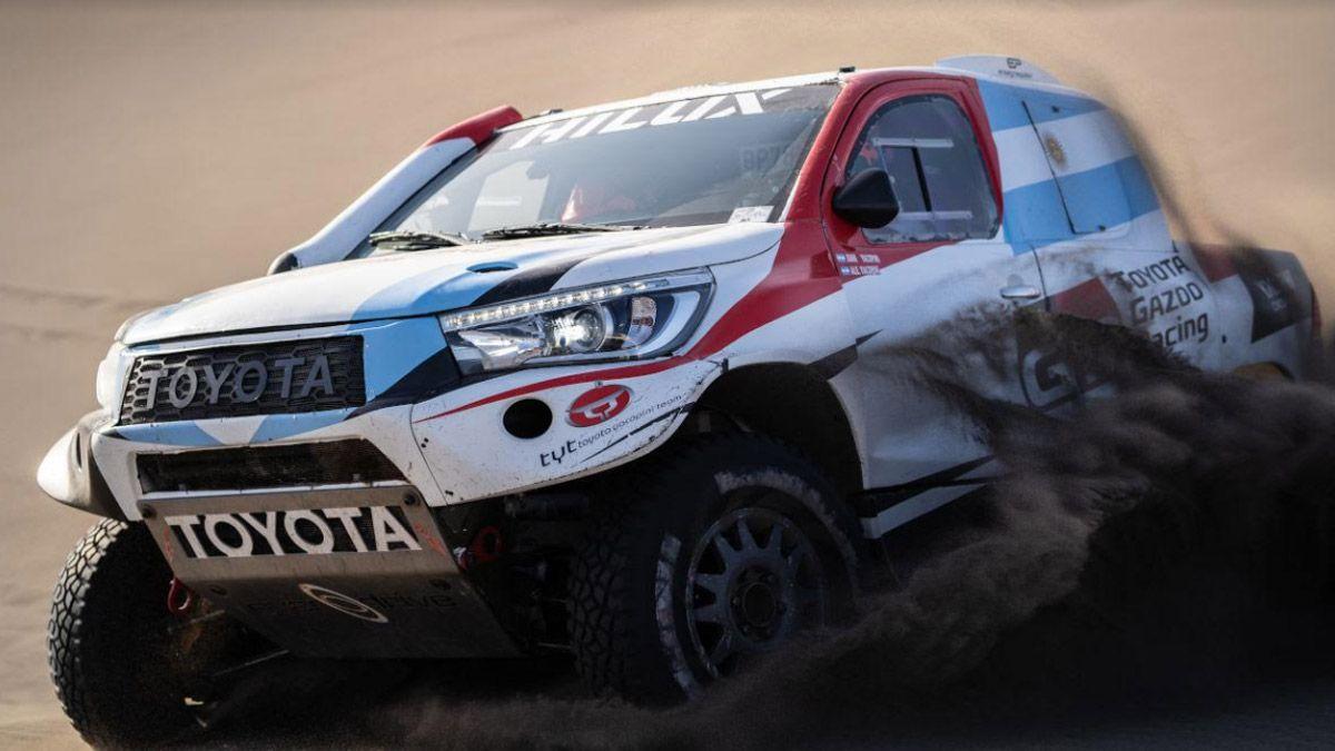 Juan Cruz Yacopini y el sueño de correr el Dakar