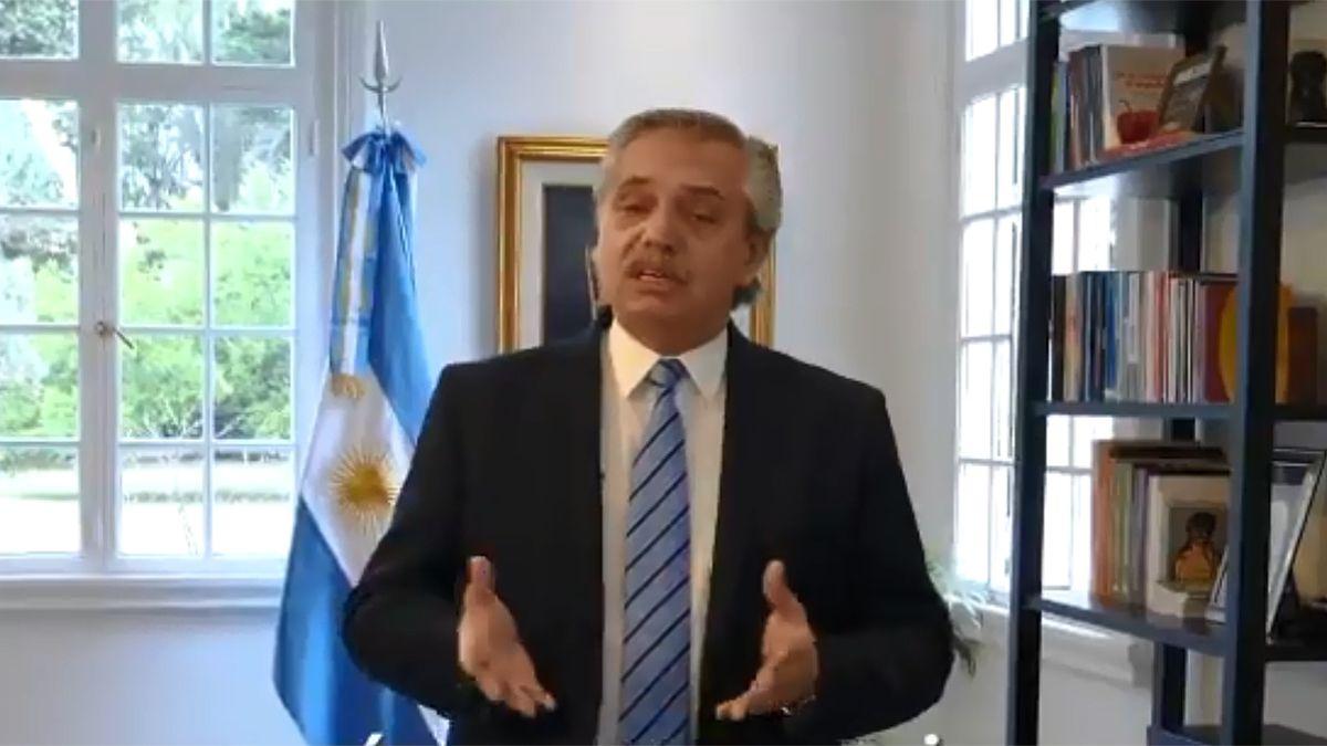 El presidente Alberto Fernández habló del aumento de casos de coronavirus en Argentina.