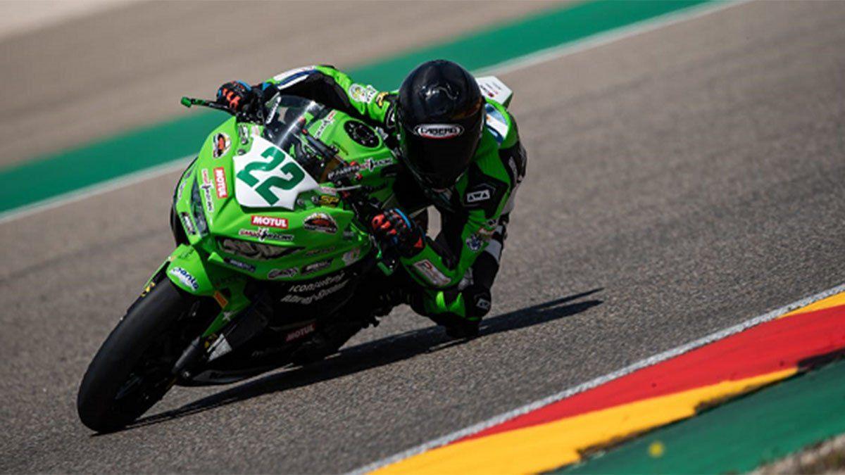 Joel Romero fue de menor a mayor en el Mundial de Superbike.