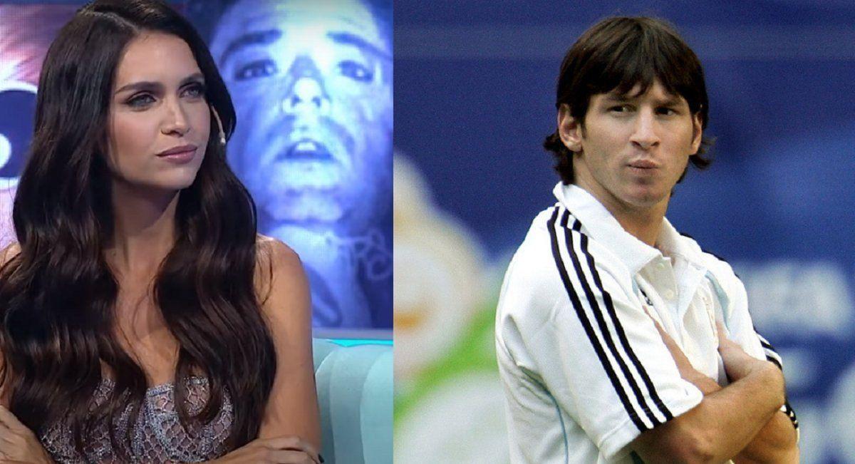 La noche que Messi quiso conquistar a Zaira Nara.