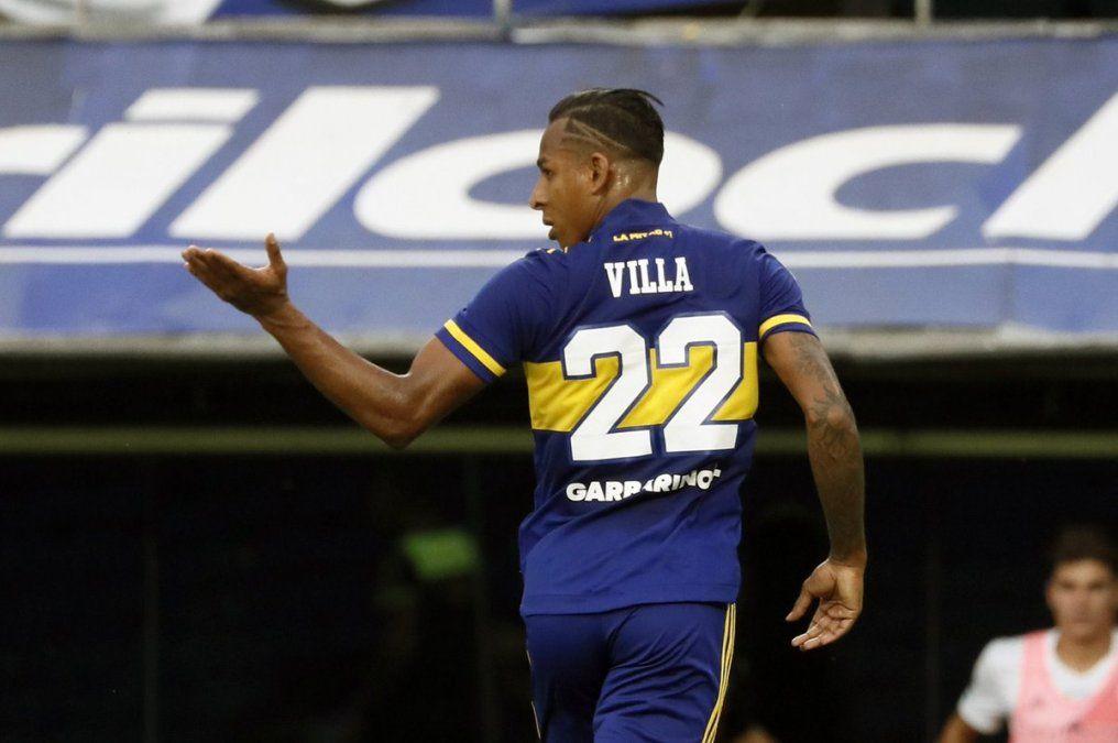 Sebastián Villa parece estar fuera de Boca.
