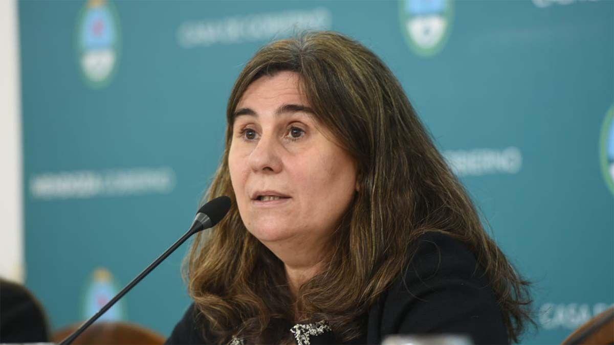 Ana Nadal, ministra de Salud de Mendoza.