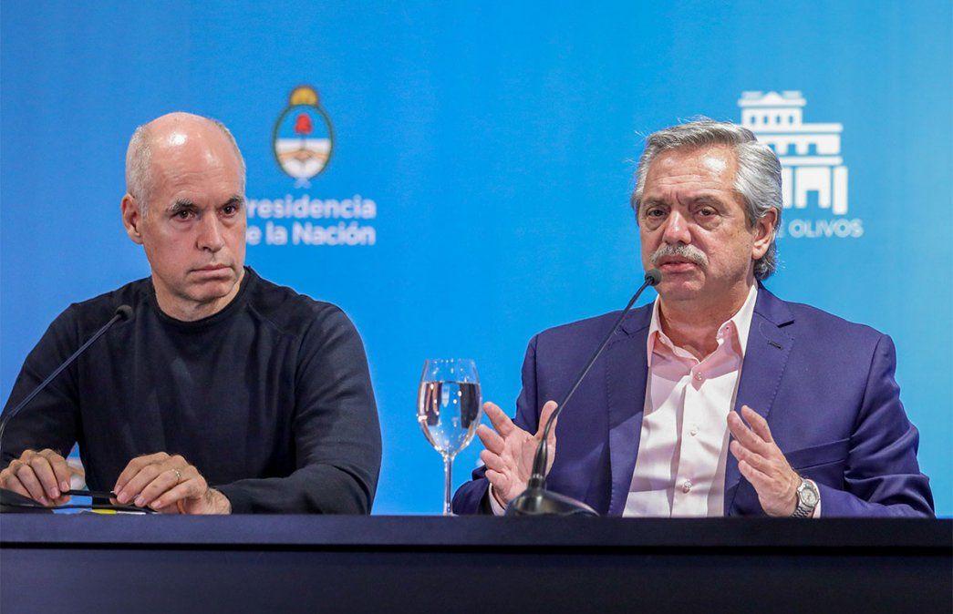 Se romió la relación Rodríguez Larreta-Alberto Fernández. El Gobierno Nacional recibió con fuerte enojo el fallo de la Justicia porteña que habilitó las clases presenciales en la Ciudad de Buenos Aires.