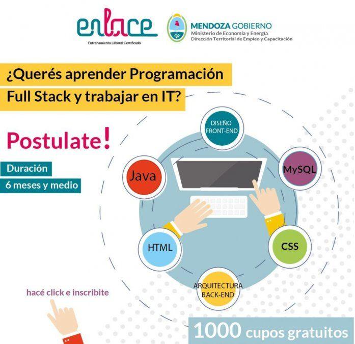 Abrió la inscripción para el curso gratuito para ser programador y trabajar en IT. Los sueldos promedios en Argentina están arriba de los $80.000