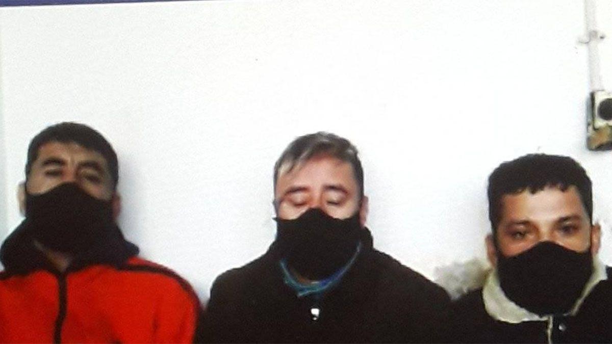 Díaz, Chumacero y Marquez, imputados por el femicidio en Las Heras.