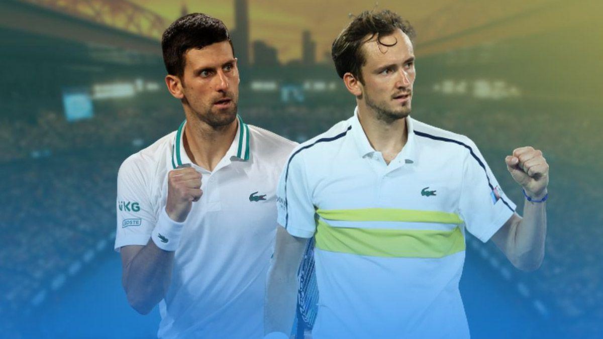 Cuándo y a qué hora es la final entre Djokovic y Medvedev