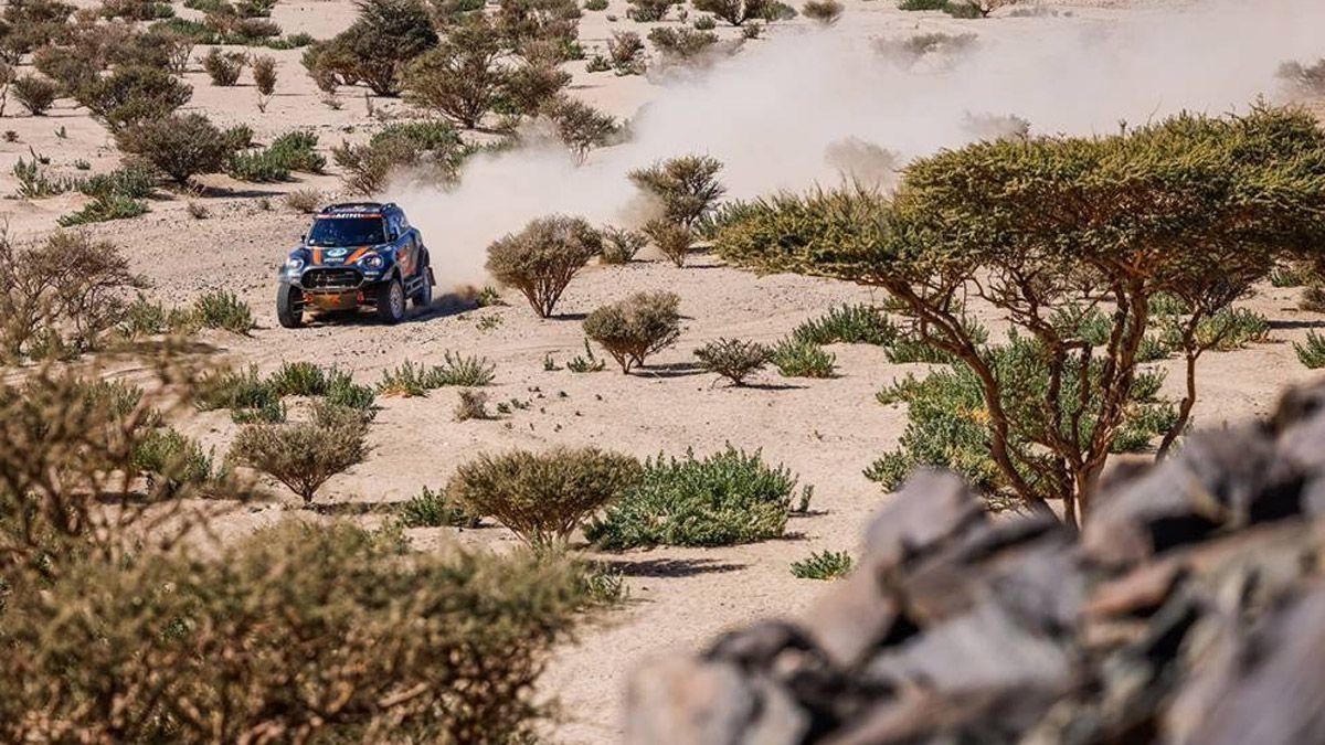 La primera etapa del Dakar fue durísima para los mendocinos