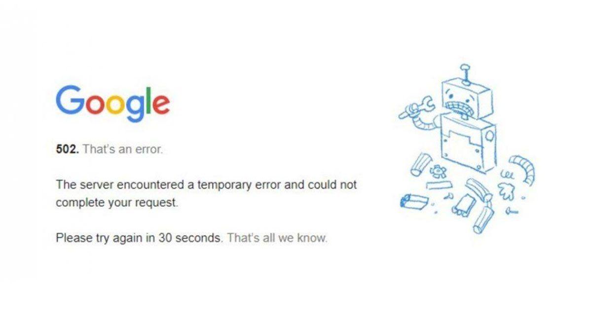Tanto Google (print de pantalla) como YouTube