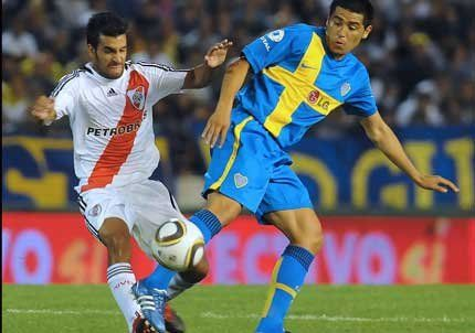 River ganó el primer superclásico de 2010 con un gol mendocino