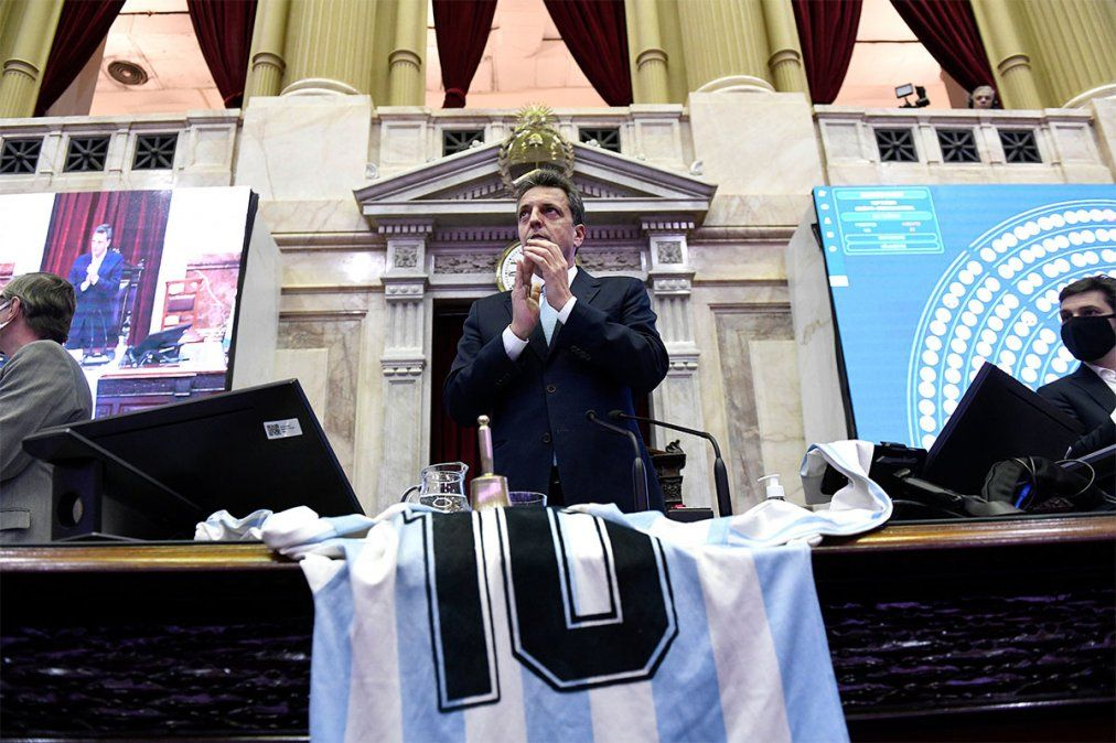 Sergio Massa seguirá presidiendo la Cámara de Diputados.