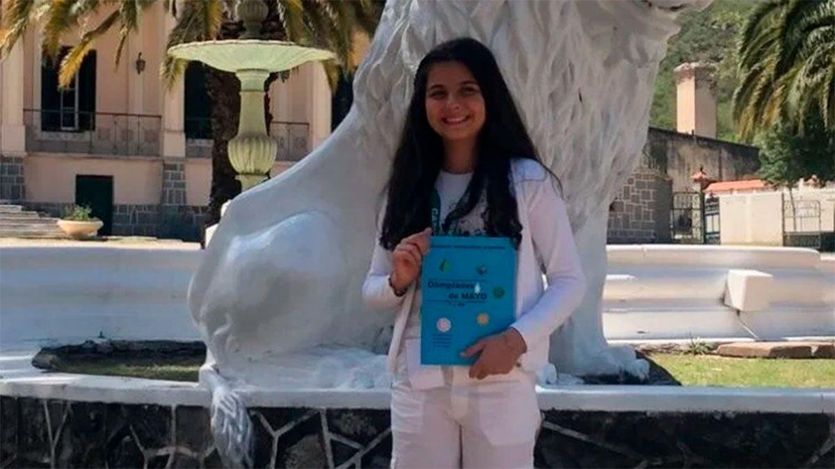 Macarena, la argentina de 13 años prodigio en matemáticas