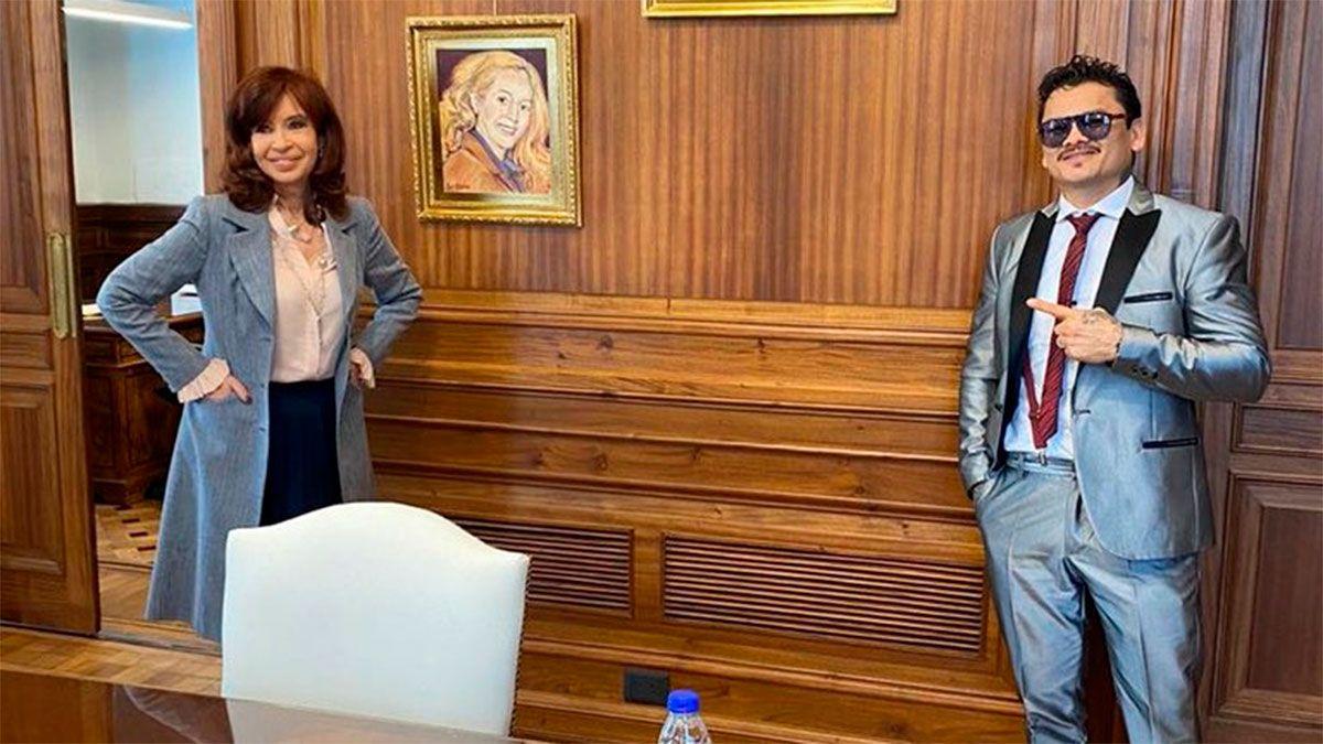 Chino Maidana reveló detalles de su encuentro con Cristina
