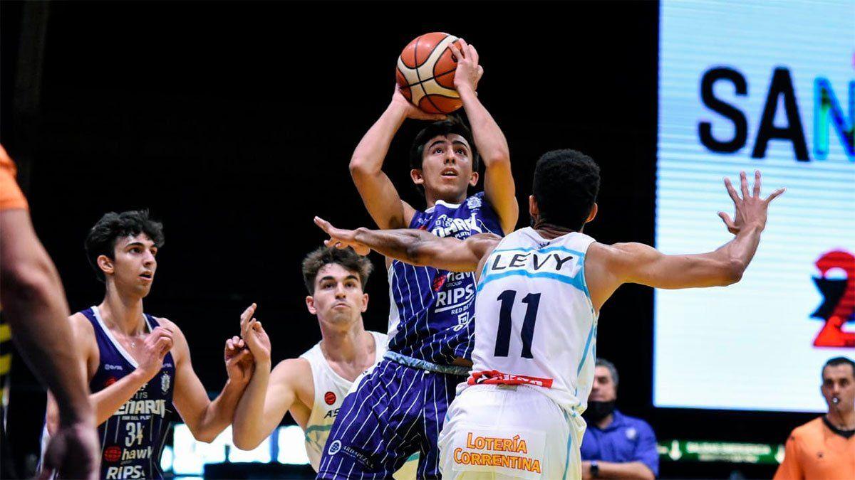 Francisco Zustovich, debutó con 14 años en la LNB