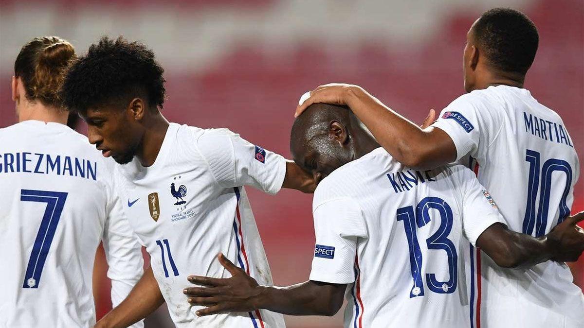 Francia va al Final Four y eliminó al Portugal de Ronaldo