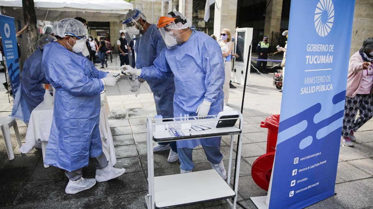 Coronavirus en Argentina. Una nueva jornada con más de 11 mil contagios en el país.