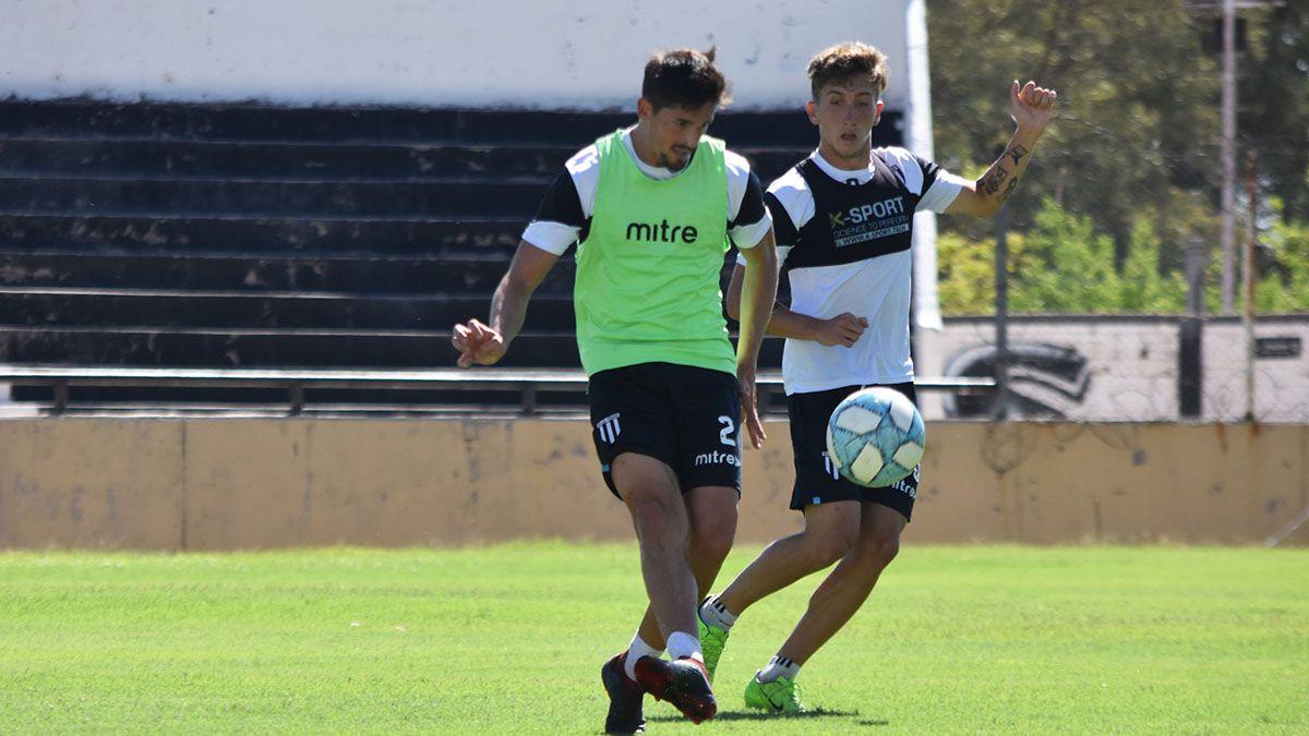 Diego Mondino junto a Tadeo Marchiori.