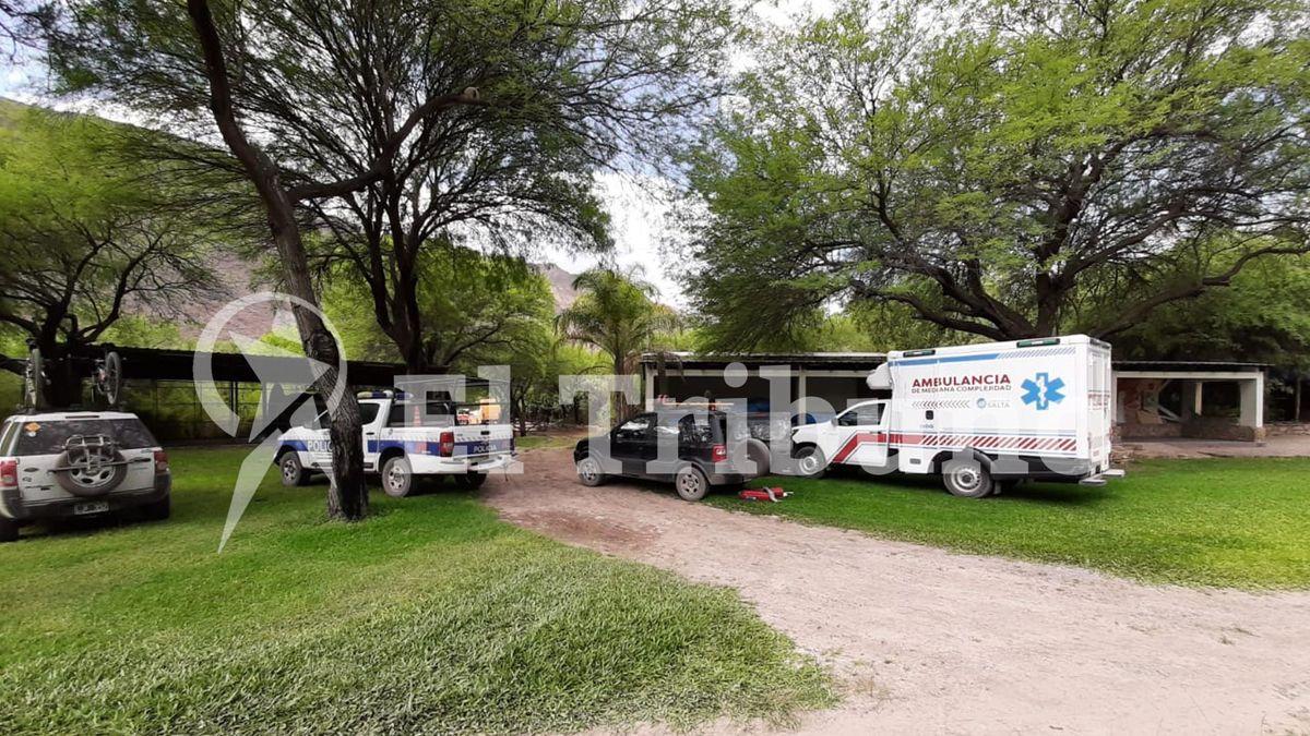 Un importante operativo policial y sanitario se realizó en la zona turística de Cabra Corral