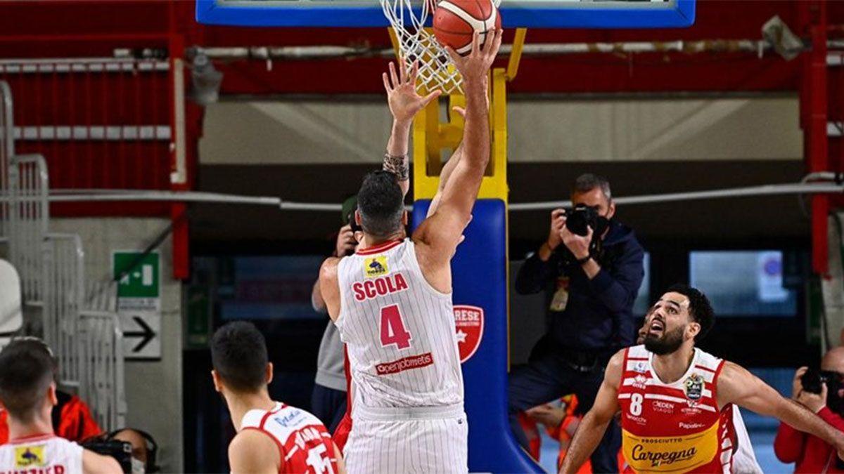 Scola tuvo una buena labor en el triunfo del Varese