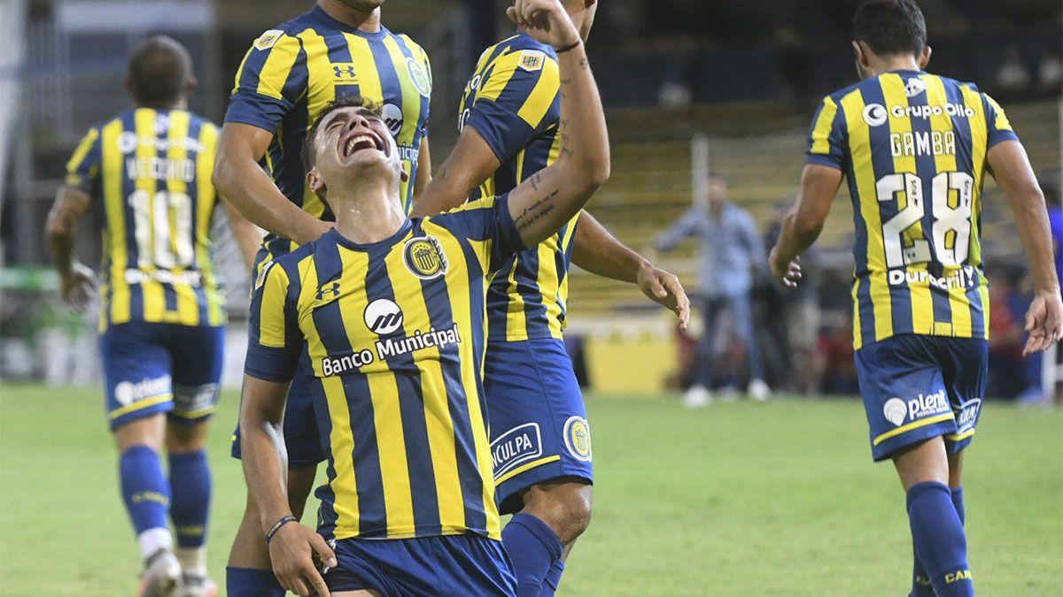 Rosario Central venció al Bicho con un gol del mendocino Gamba