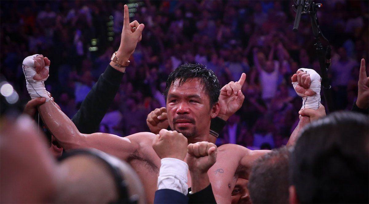 Pacquiao anunció, tras su retiro, que volverá a pelear