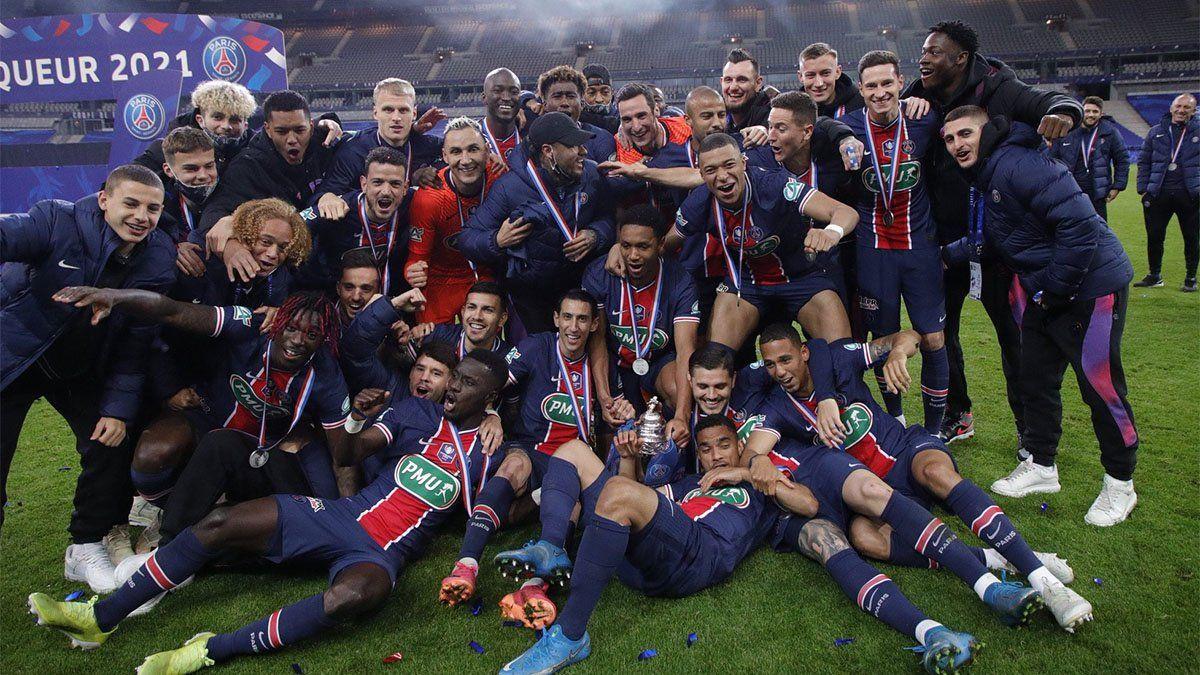 PSG, de la mano de Icardi, ganó la Copa de Francia