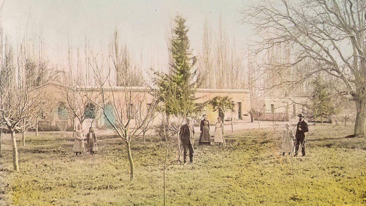 Las maestras estadounidenses vivieron en una parcela donada por los Guldberg, pioneros de Chacras de Coria.