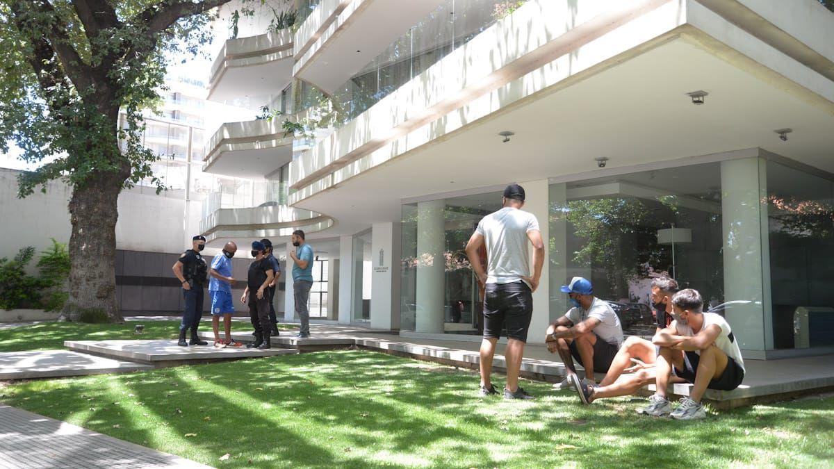 Así está el edificio donde hallaron al Morro García
