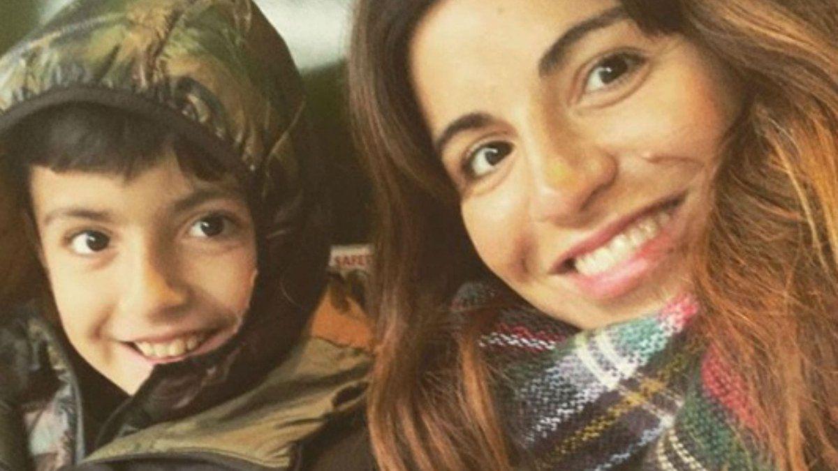 El mensaje de Gianinna Maradona a su hijo Benja, contagiado de coronavirus en Inglaterra