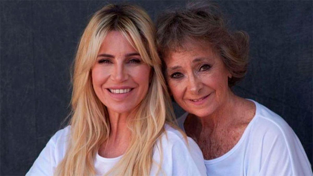 Florencia Peña y su madre Norma.