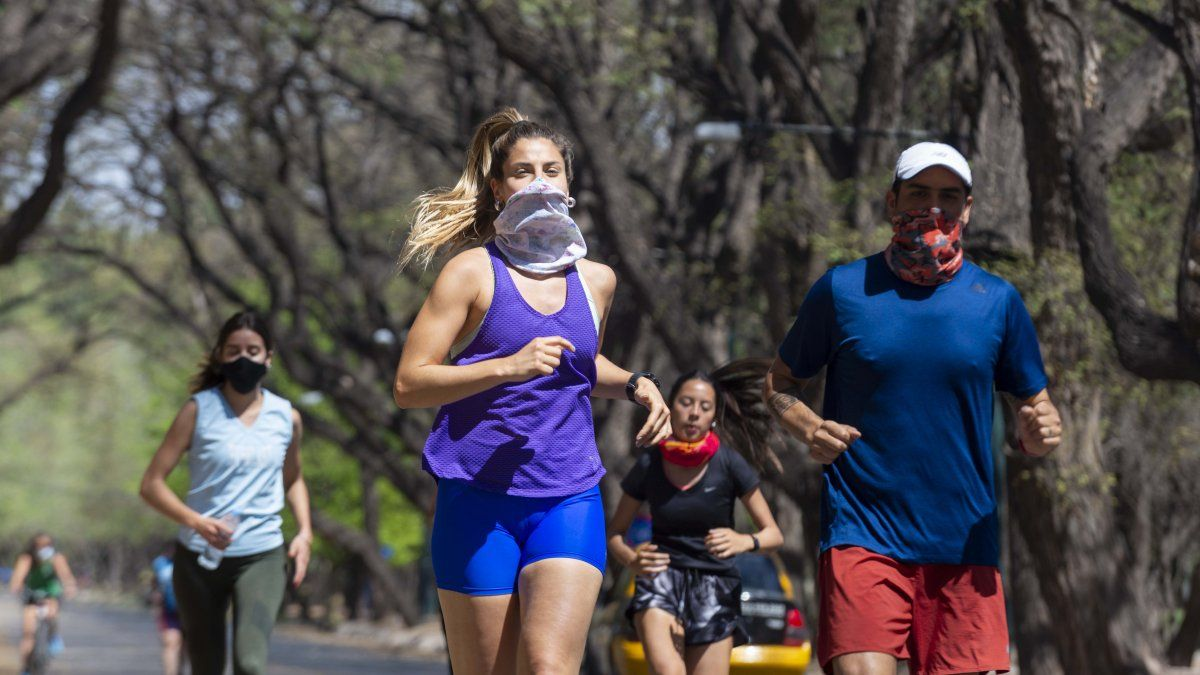 Coronavirus en Mendoza: sigue descendiendo la curva de contagios.