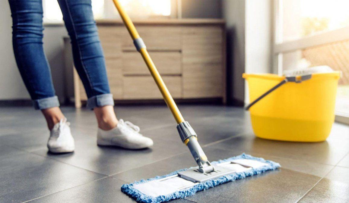 Sueldo empleada doméstica| Aumento del 28% en tres cuotas: cuánto cobro en diciembre