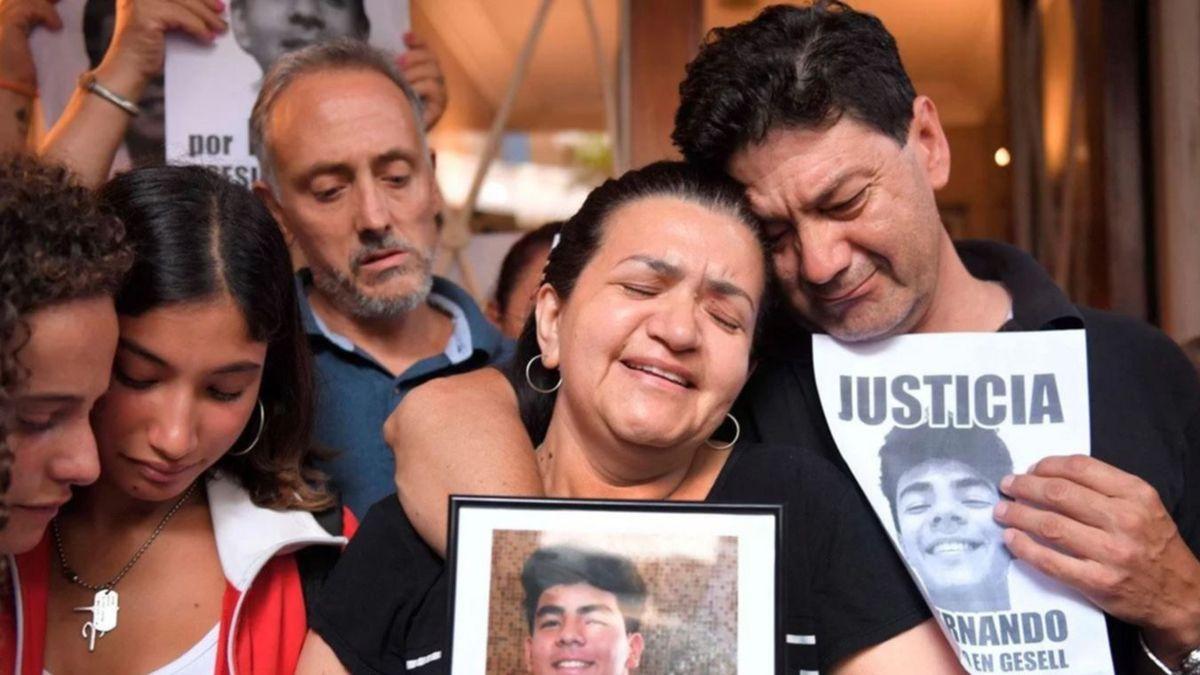 La familia de Fernando Báez Sosa está a la espera de justicia.