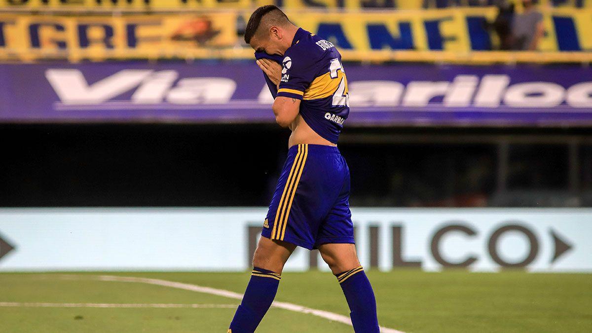 El emotivo llanto del Pulpo González tras su gol en Boca