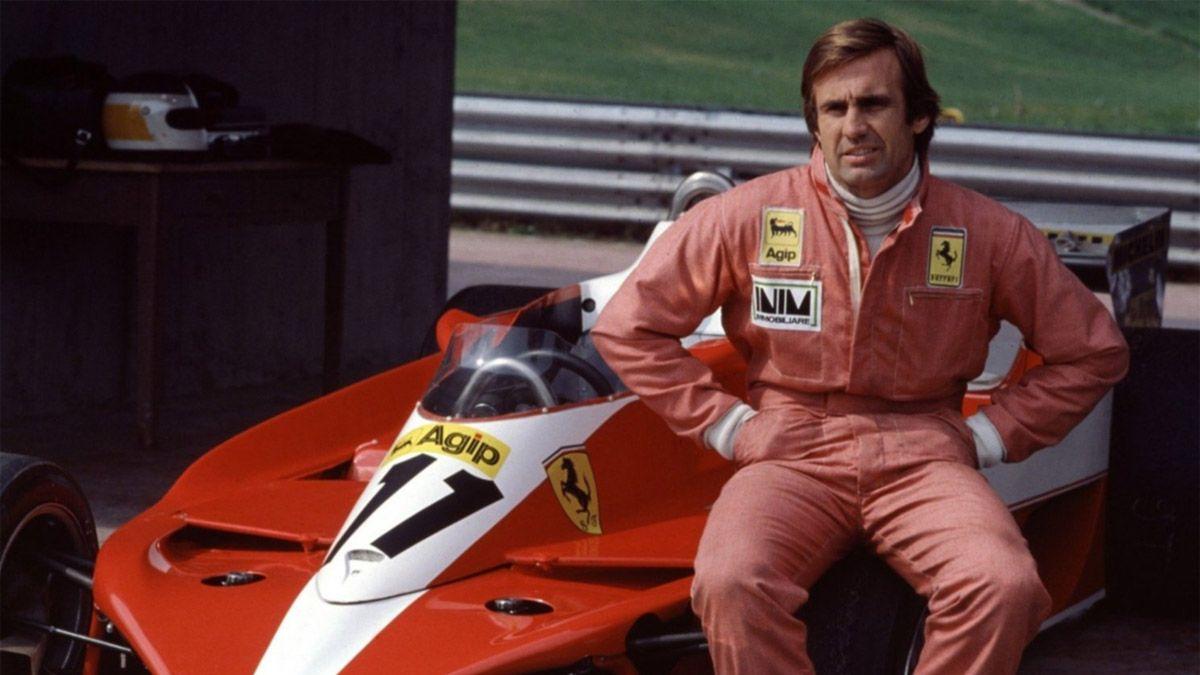 Ferrari y un saludo especial para Reutemann