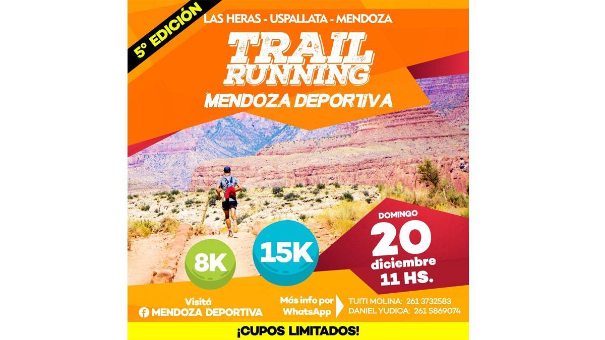 Todo listo para la carrera Aventura Mendoza Deportiva