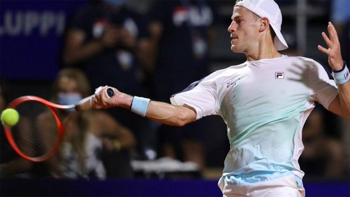 Diego Schwartzman debutó con triunfo al Argentina Open