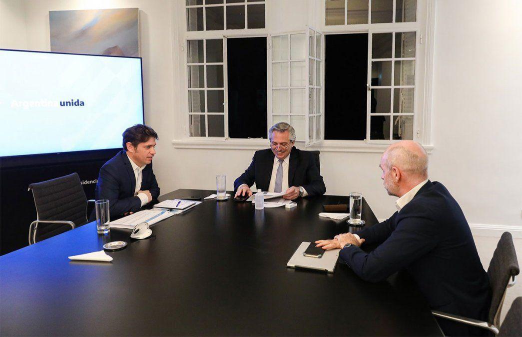 Alberto Fernández se reunió con el gobernador de Buenos Aires