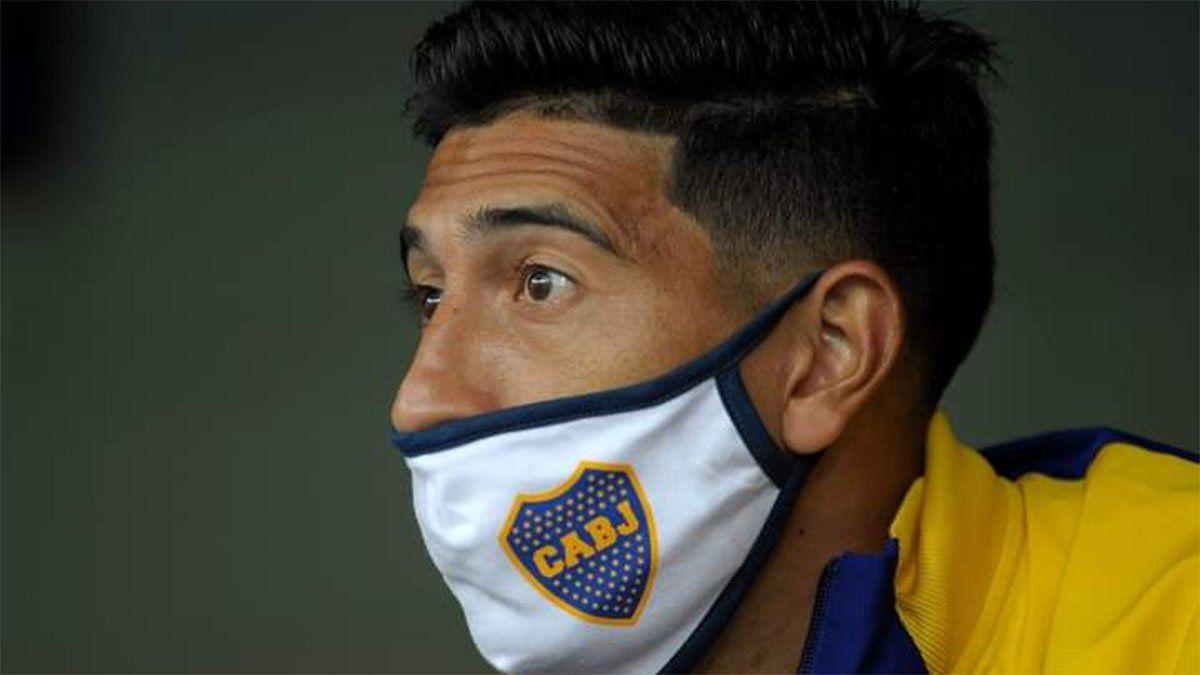 Esteban Andrada está aislado y es baja en Boca
