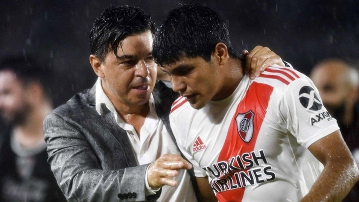 El Muñeco Gallardo busca el once para jugar ante Godoy Cruz