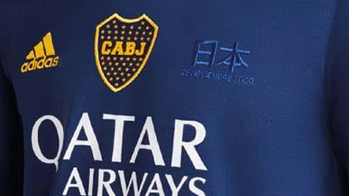 Boca lanzó una camiseta de la final con el Real Madrid