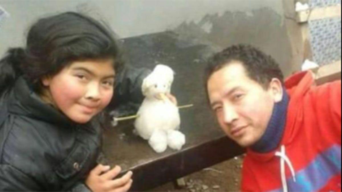 Padre e hija murieron en el trágico accidente en Potrerillos.