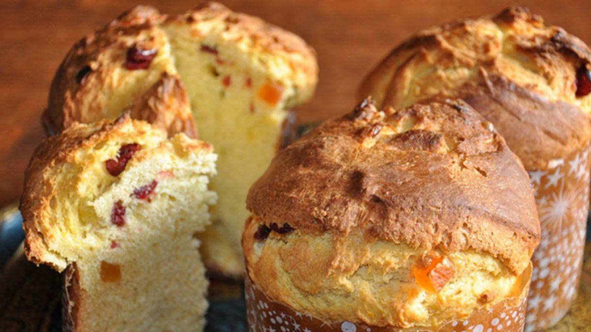 El pan dulce salado es una alternativa para las fiestas.