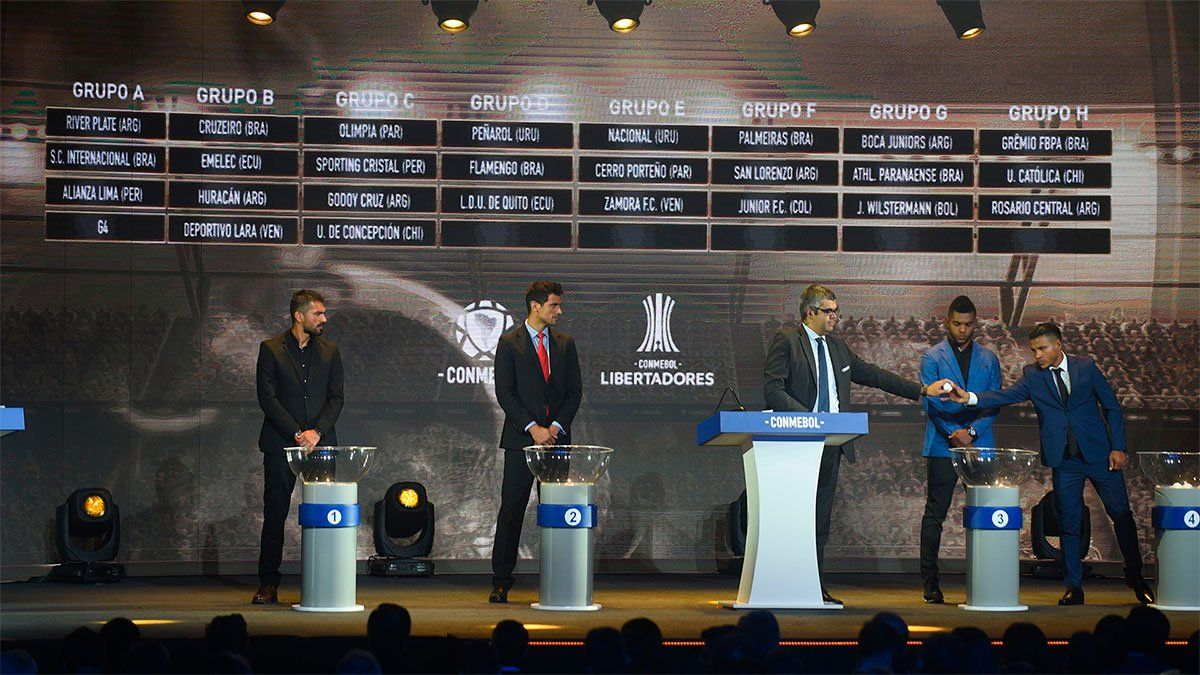Copa Libertadores 2021: bombo definido para Boca y River
