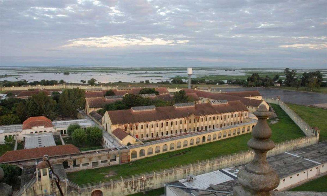 Presos del pabellón de evangelistas de la cárcel de Coronda