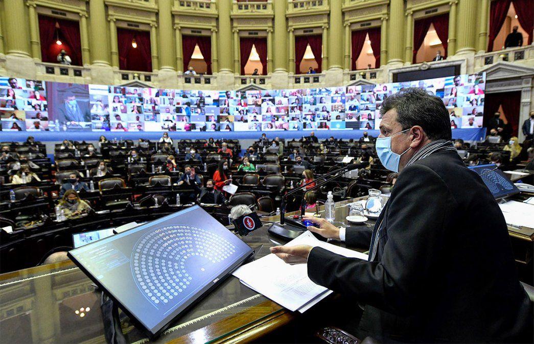 En vivo: Diputados de la Nación trata el Presupuesto y el Aporte Solidario