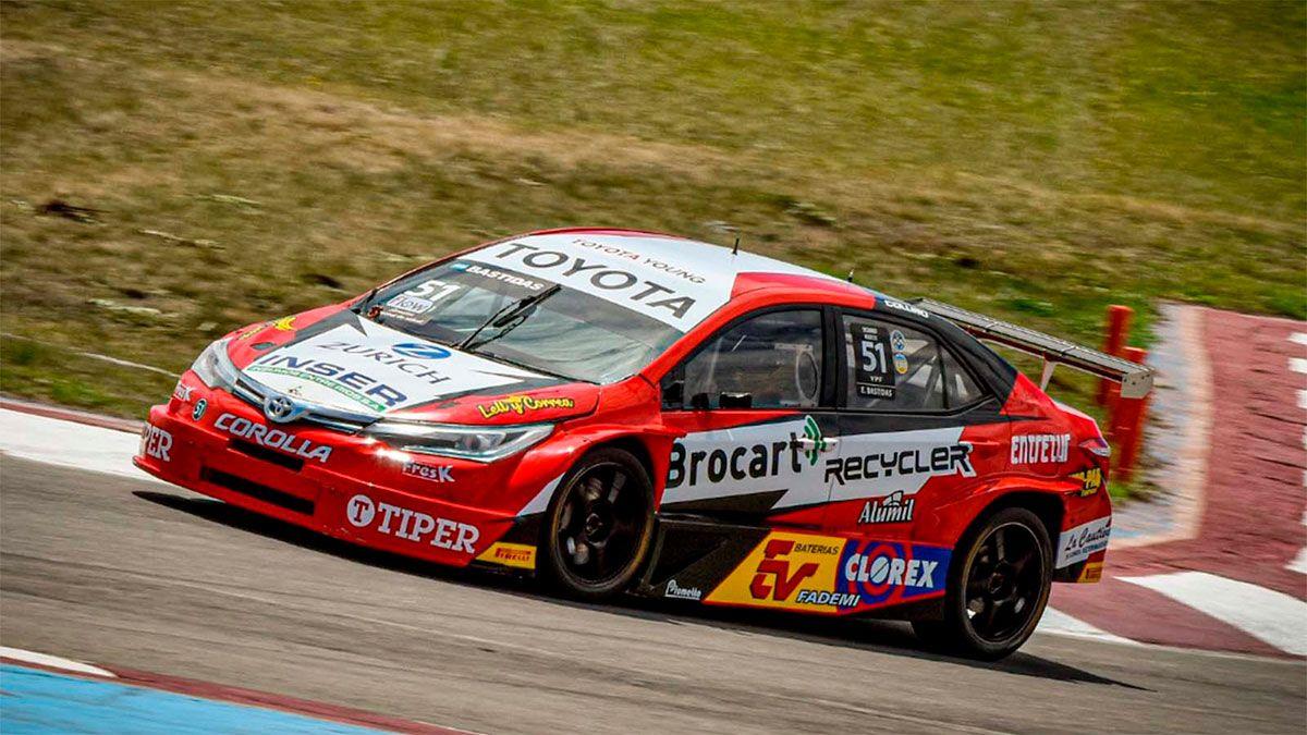 TC2000: Exequiel Bastidas ganó la primera carrera