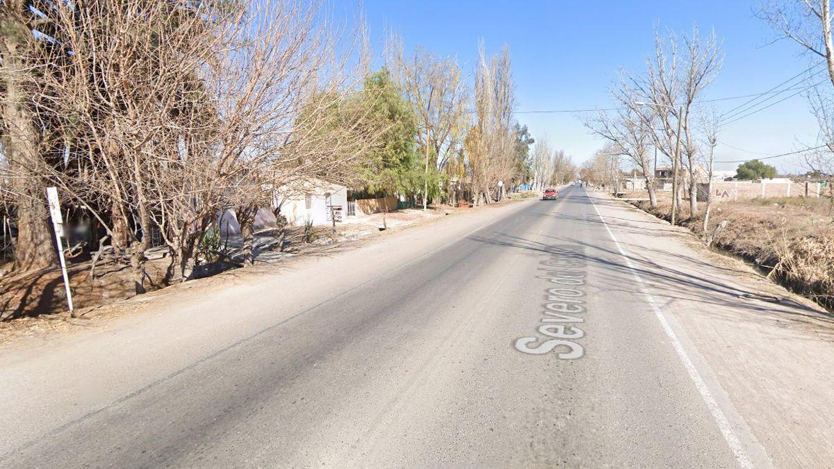 El accidente ocurrió en la calle Severo del Castillo